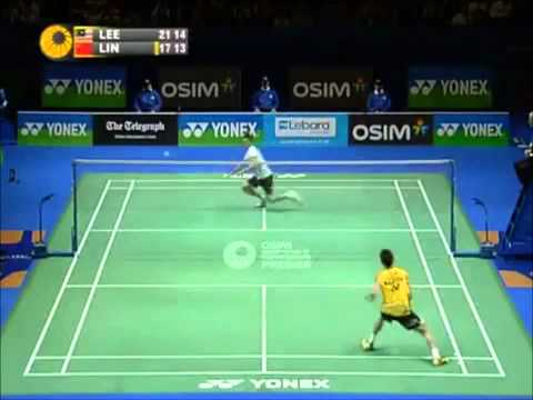 Lee Chong Wei - Badminton All England 2011 Final Highlights