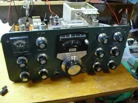 SB110-5, Heathkit SB110,restoring a boat anchor,fixing old amateur radios,SB110,SB110A,HW101,SB102,