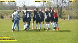 """TS Stale 4-5 KS Żupawa (pomeczowa radość piłkarzy) 20.04.2019 Klasa """"A"""""""