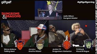 Dungeons & Dragons Part 1 | Livestream with Aoife Wilson | #giffgaffgaming