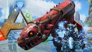 Ark Survival Evolved - ALPHA PLESIOSAUR TAMING, DRAGON FAILS - Modded Survival Ep74 (Ark Gameplay)