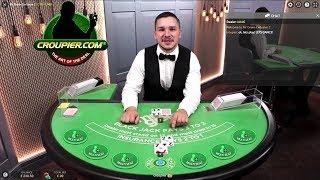 Online Blackjack Dealer Laughing at My Bad Luck! Mr Green Live Casino!