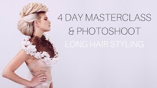 One with the lot! 4 Day Long Hair Workshop...