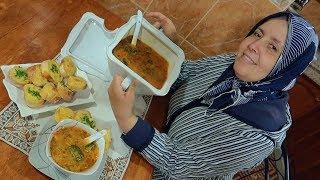 باراكا من الحريرة هاهي شوربة بالخضر و الدجاج تقدري تصايبيها ف 30 دقيقة قبل الفطور مع كومير منسم