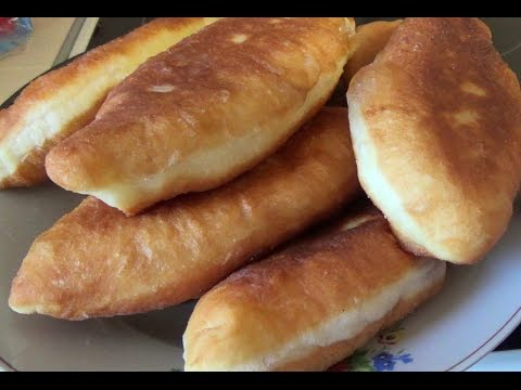 РЕЦЕПТ ПИРОГОВ С КАРТОШКОЙ, очень вкусные домашние пирожки жаренные на сковороде #93