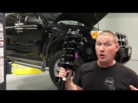 2001-2012 Ford Escape: Front Suspension Quick Strut Install