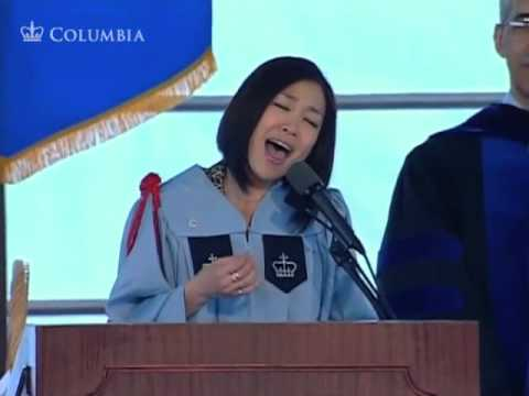 Lena Park sings the U.S. National Anthem, School of General Studies Class Day 2010