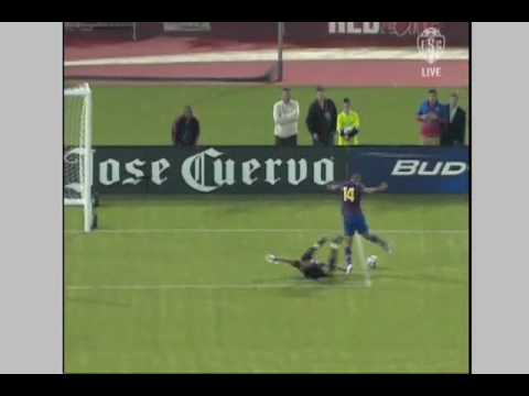 FC Barcelona at Chivas Guadalajara - Game Highlights 08/08/09 Video