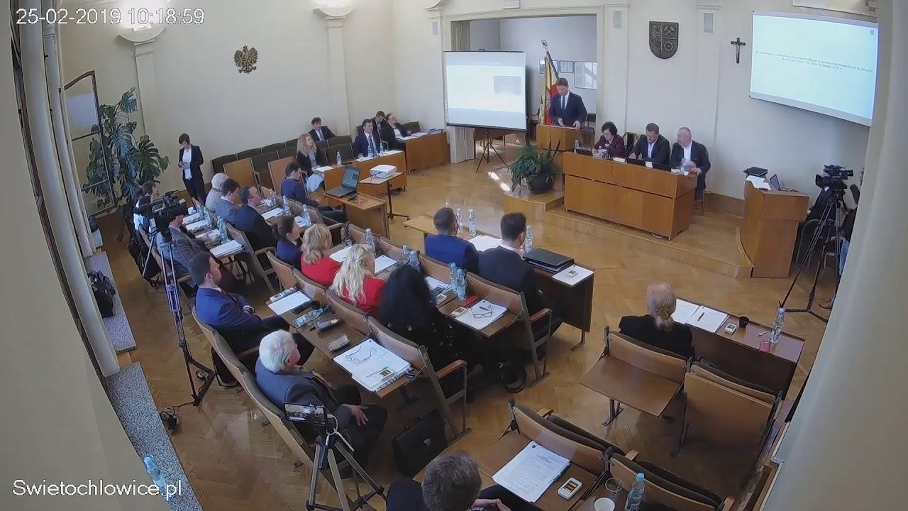 IX sesja Rady Miejskiej 25.02.2019