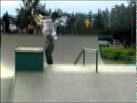 Campeonato de skate de Cambuquira mg 2011 wasted Youth