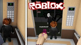 DEZE LIFT IS GESTOORD! (ROBLOX THE NORMAL ELEVATOR)