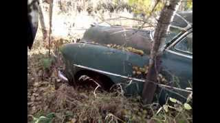 52 Chevy Deluxe & 49 DeSoto Custom Bush Find