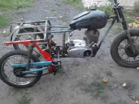 Вездеход трицикл своими руками