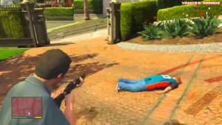 GTA 5 Funny Moments - Ultimate Workout, Jimmy Clone Glitch,