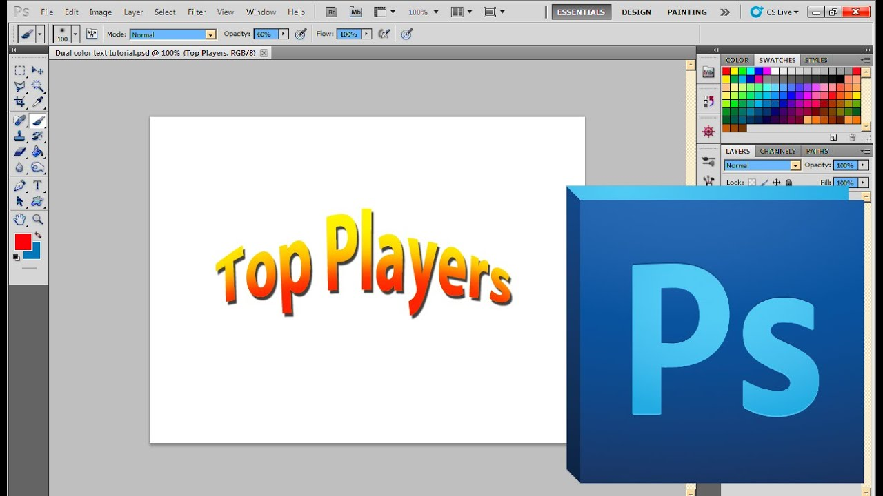 How to Create Text Fade Effects in Photoshop CS6 - dummies