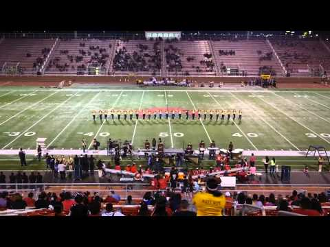 Donna High School D'ettes Dance Team at La Joya 10/25/2013
