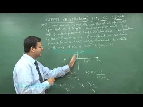 Re-AIPMT 2015 Solution-Physics Video Q. 153-155 Aakash Institute