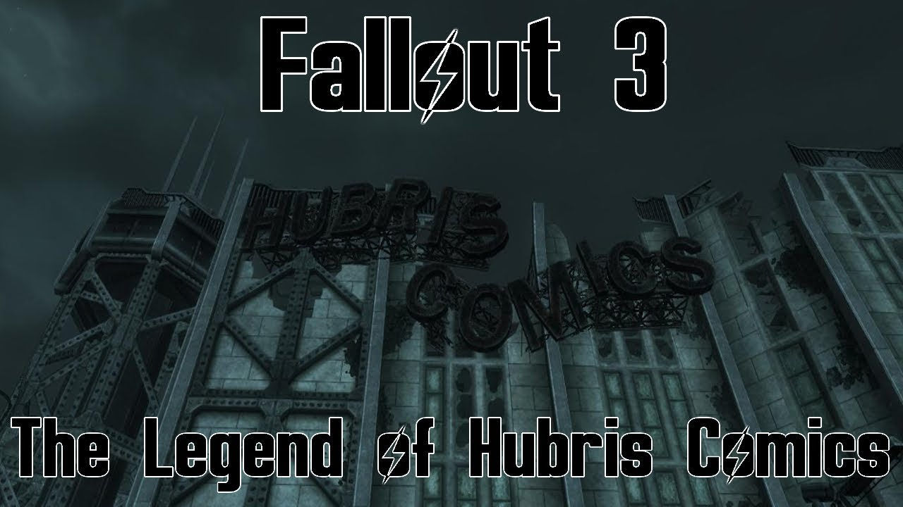 fallout 3 hubris comics how to get to