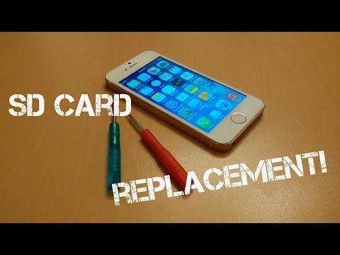 Goophone i5S MTK6572 - SD Card Replacement!