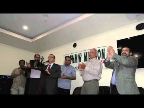 Ghulam Nabi Fai addresses Kashmir Mission