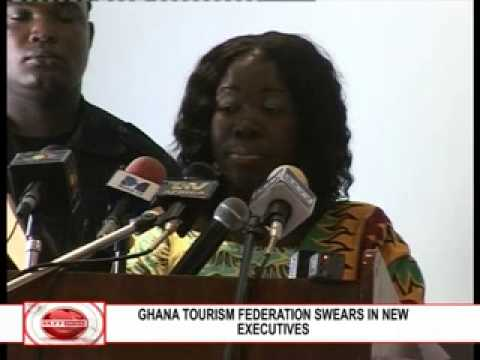 GHANA TOURISM FEDERATION SWEARS    IN NEW EXECUTIVES 2)