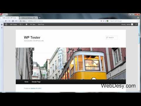 0 How to install the GetSocial plugin for Wordpress   WebDesy.com