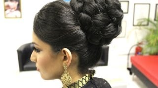 TUTORIAL: Indian Bridal Hairstyle