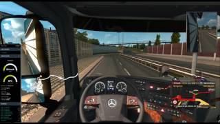 ETS2MP Driving with GlobEx Map - Job 4