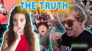 WHAT ACTUALLY HAPPENED AT VIDCON (feat. Logan Paul)