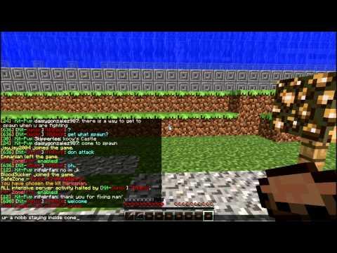 Minecraft PC - GravityCraft Arcade Cracked Server Review 1.7.9 [Kit-PvP] Gameplay