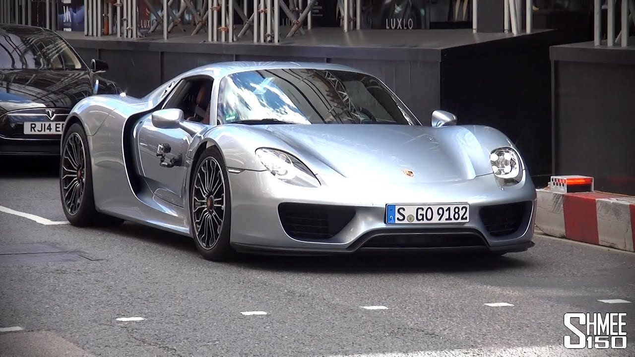 first porsche 918 spyder in london youtube. Black Bedroom Furniture Sets. Home Design Ideas