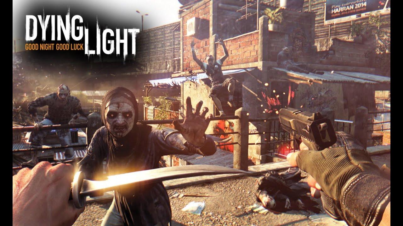 Dying Light Shotgun & Pistol 60 Fps Gameplay Ultra GTX 970