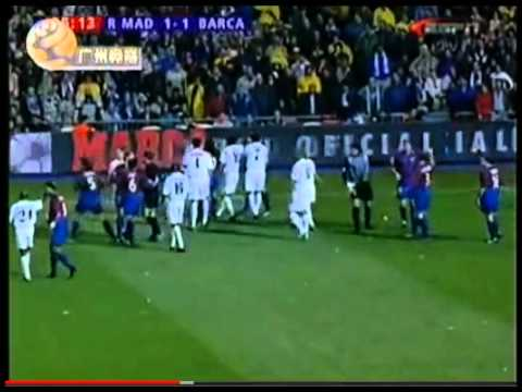 Zinedine Zidane VS Luis Enrique FIGHT