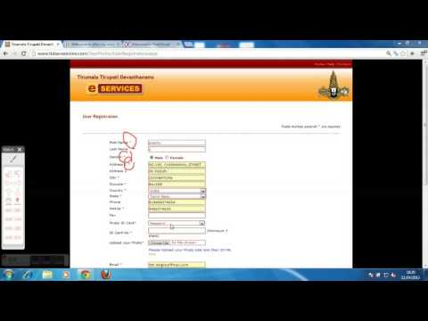 How To Book Suprabhatam E-seva In Ttd Website Part 1 video