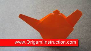 Origami Instructions Origami Little Teapot