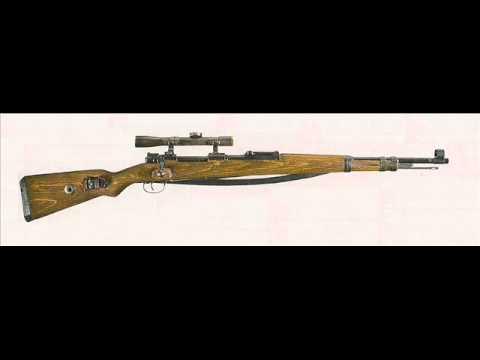 Mauser Kar98 bolt action rifle sound effects