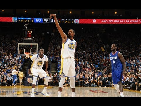 Kevin Durant Scores His 20,000th Point | January 10, 2018