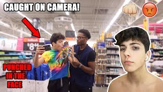 I GOT PUNCHED BY A WALMART WORKER! (CAUGHT ON CAMERA)