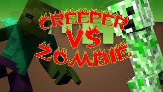 YouTube Musica Zarcort : Creeper V/s Zombie