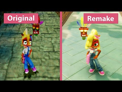 Crash Bandicoot 3 – Original (1998) vs. N. Sane Trilogy (2017) Remake PS4 Pro Graphics Comparison