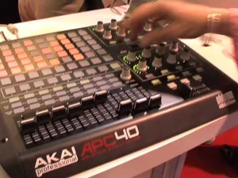 Akai contrôleur APC40 & clavier MPK25 (La Boite Noire)
