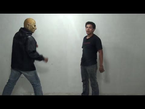 Como terminar una pelea callejera rapido con tecnicas estilo muay thai muay boran vs callejero