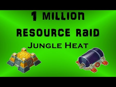 Jungle Heat Command Center{CC LVL 5} Farming Base/Trolling People With Wall Breakers