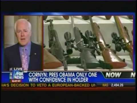 Interview - Sen. Cornyn: Atty. Gen. Holder Should Testify on