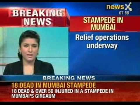 18 dead and over 40 injured in a stampede in southern Mumbai ahead of Syedna's funeral - NewsX
