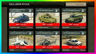GTA Online Update! - Save MILLIONS On Vehicle Discounts, NEW Gamemode Added & MORE! (GTA 5)