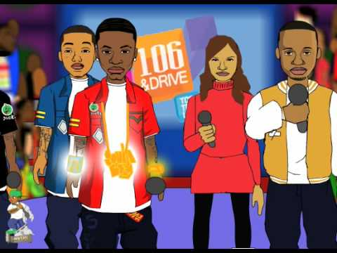 Soulja Boy Cartoon. Soulja boy on 106 and Drive (WE'RE NOT HATING!!!!) - BYOB ENT