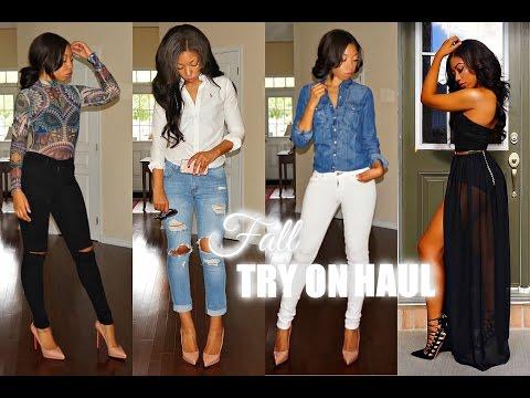 Affordable Fall Fashion Haul & Try On Feat. Fashion Nova