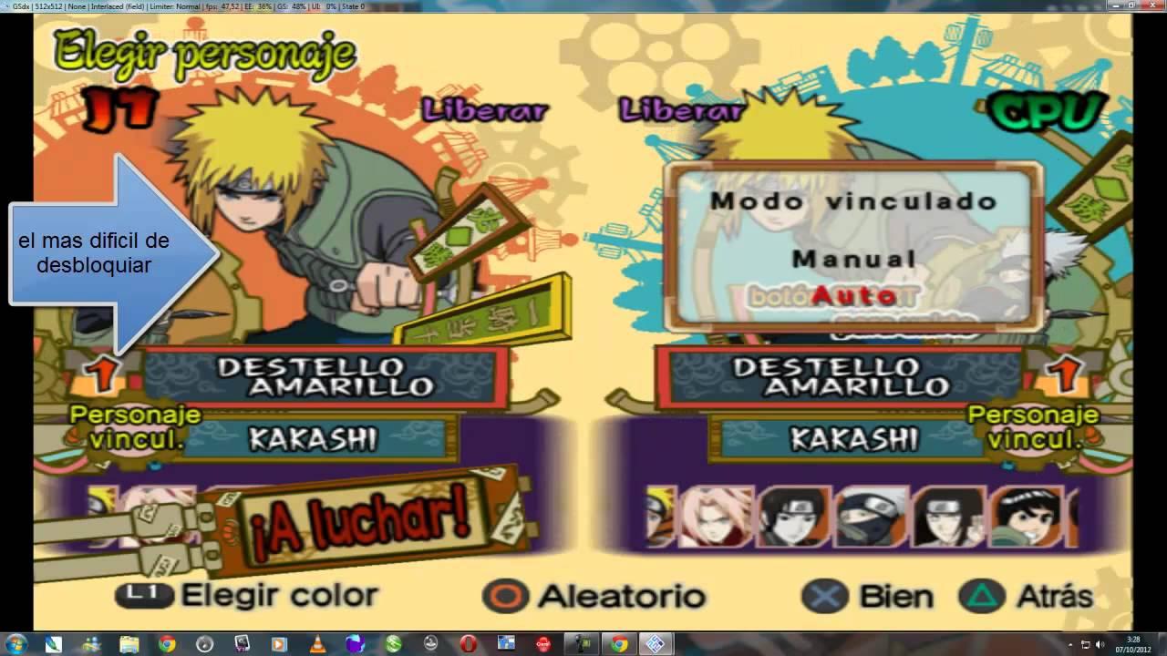 Галерея - naruto shippuuden: ultimate ninja 4 - square faction