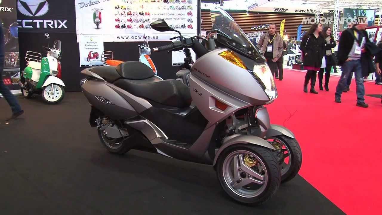 pr sentation vectrix vx 3 scooter lectrique 3 roues youtube. Black Bedroom Furniture Sets. Home Design Ideas
